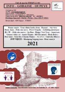 Jan - Fév - Mars 2021
