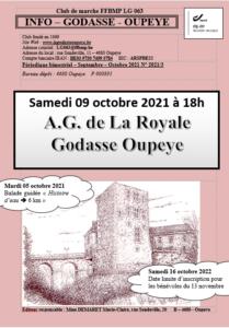 Sept - Oct 2021
